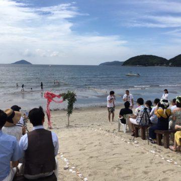 <糸島>海の家 波